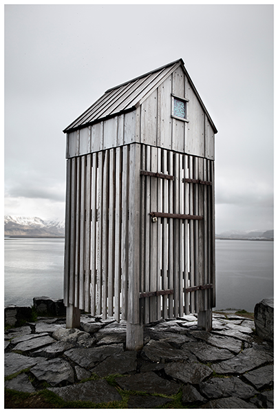 Wooden shed in Iceland