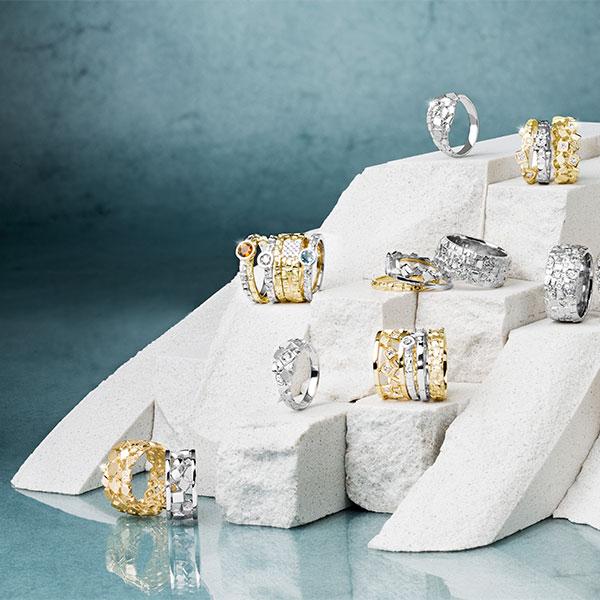 hringar skartgripir ljósmyndari jewellery photographer rings still life